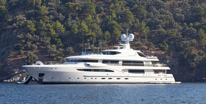 Sea Rhapsody yacht charter Amels Motor Yacht
