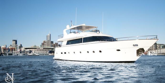 Pearl yacht charter Custom Motor Yacht
