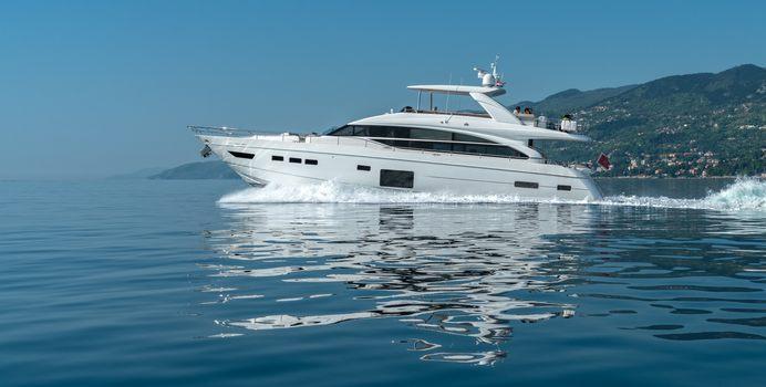 LARIMAR II yacht charter Princess Motor Yacht
