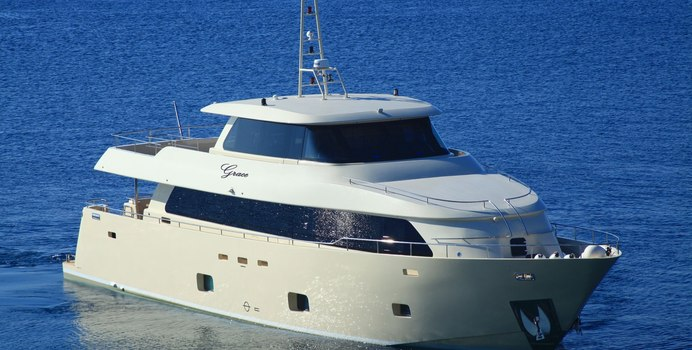 Grace yacht charter Aegean Yacht Motor Yacht