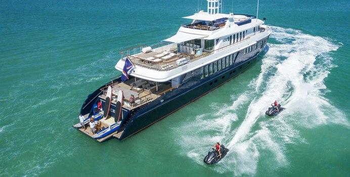 Ice 5 yacht charter Turquoise Motor Yacht