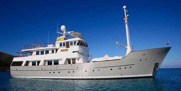 Zeepaard yacht charter JFA Chantier Naval Motor Yacht