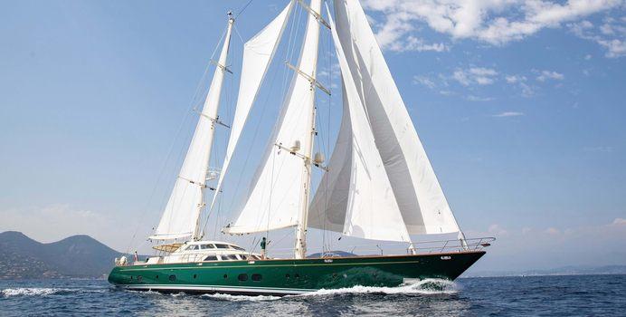 Norfolk Star yacht charter Perini Navi Sail Yacht