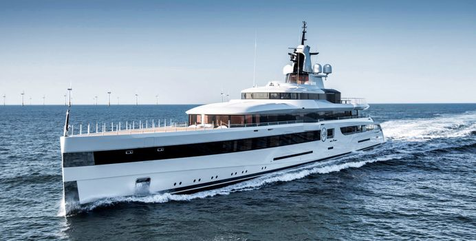 Lady S yacht charter Feadship Motor Yacht