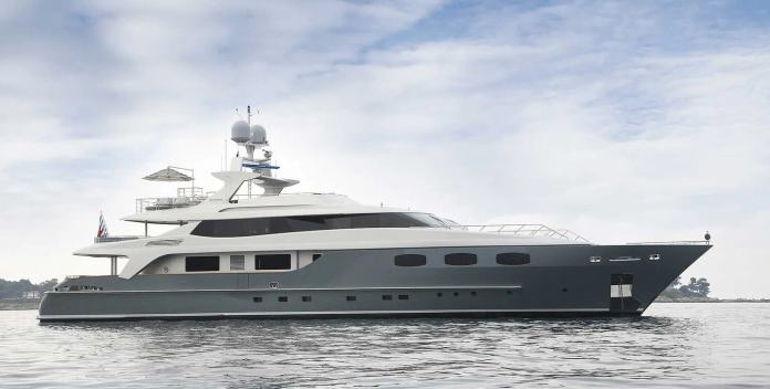 Annamia yacht charter Baglietto Motor Yacht