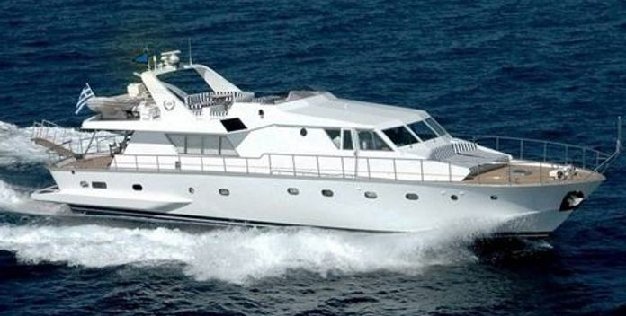 Ivi yacht charter CNL - Cantieri Navali Lavagna Motor Yacht