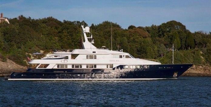 Chantal Ma Vie yacht charter Feadship Motor Yacht