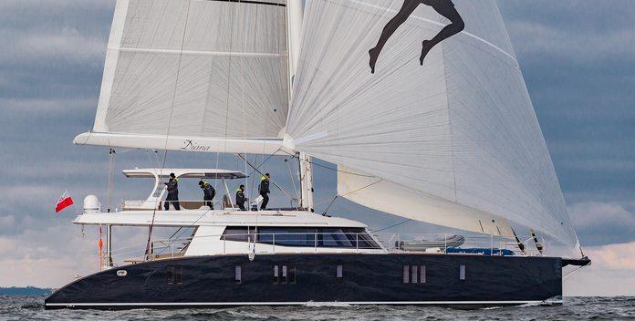 Diana yacht charter Sunreef Yachts Motor/Sailer Yacht