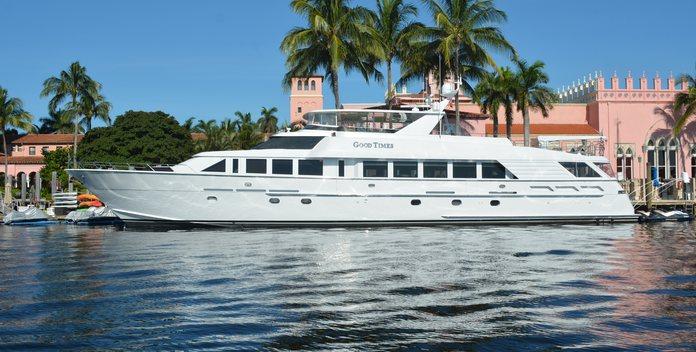Escape yacht charter Hatteras Motor Yacht