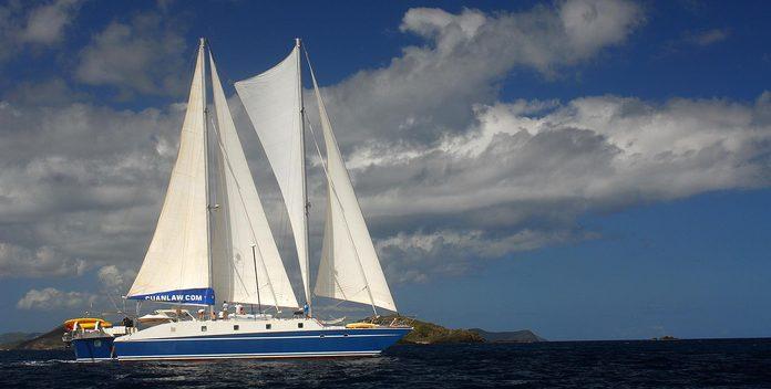 Cuan Law yacht charter Duncan Muirhead Sail Yacht