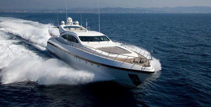 Hercules 1 yacht charter Overmarine Motor Yacht