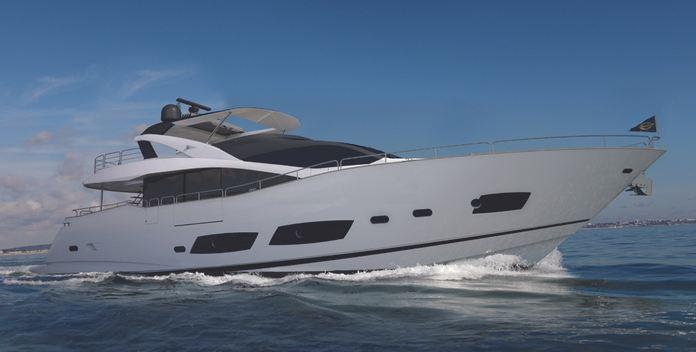 Aqua Libra yacht charter Sunseeker Motor Yacht