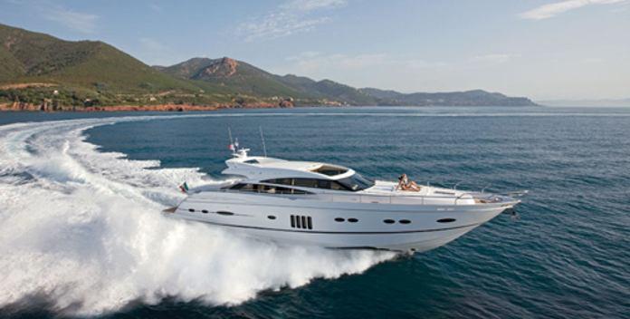 Aramis yacht charter Princess Motor Yacht