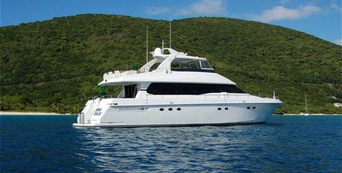 King Kalm yacht charter Lazzara Motor Yacht
