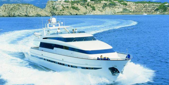 Carom yacht charter Sanlorenzo Motor Yacht