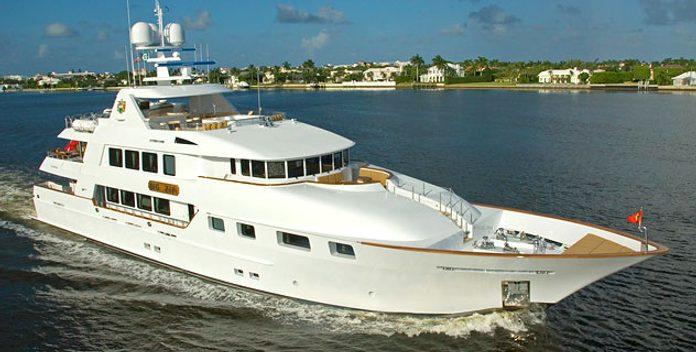 Aquasition yacht charter Trinity Yachts Motor Yacht