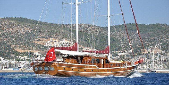 Palmyra yacht charter Custom Sail Yacht