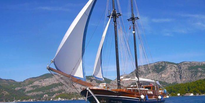 Lady Sovereign II yacht charter Mustafa Koseoglu Sail Yacht