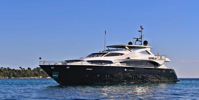 Emoji yacht charter Sunseeker Motor Yacht