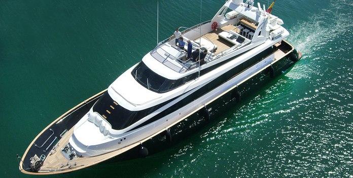 Petardo yacht charter Mondo Marine Motor Yacht