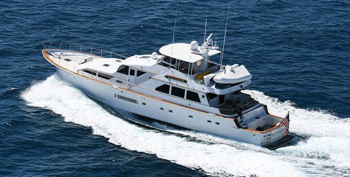 Captivator yacht charter Palmer Johnson Motor Yacht