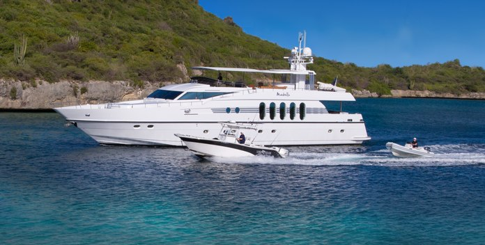 Marbella yacht charter Monte Fino Motor Yacht