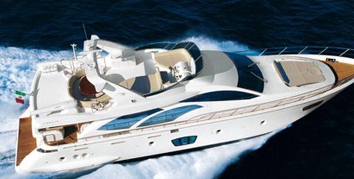Alexsophie yacht charter Azimut Motor Yacht