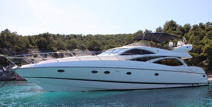 Nataliya yacht charter Sunseeker Motor Yacht
