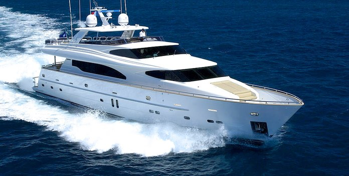 Annabel II yacht charter Horizon Motor Yacht