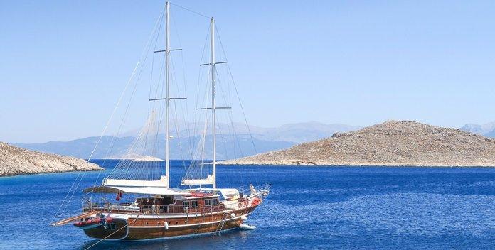 Athen.A yacht charter Custom Sail Yacht