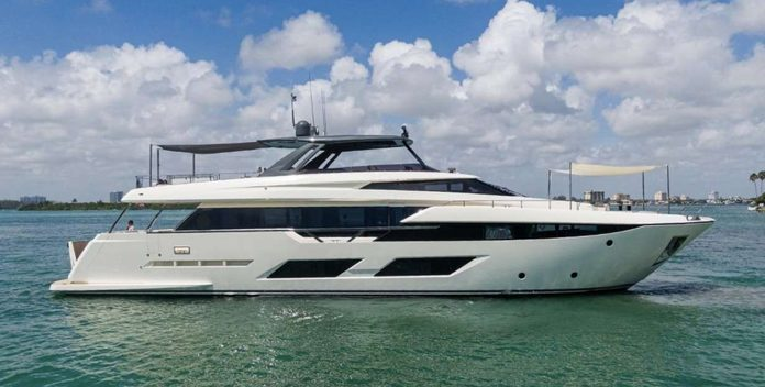 Ciao II yacht charter Ferretti Yachts Motor Yacht