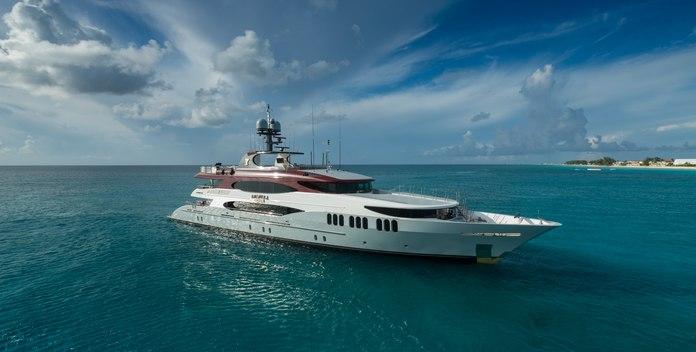 Amarula Sun yacht charter Trinity Yachts Motor Yacht