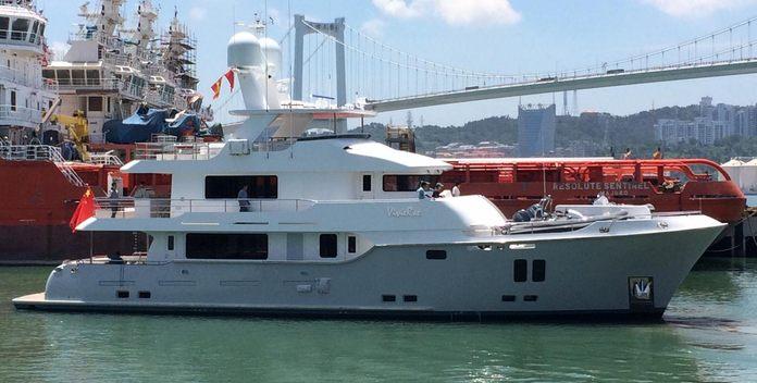 VivieRae II yacht charter Nordhavn Motor Yacht