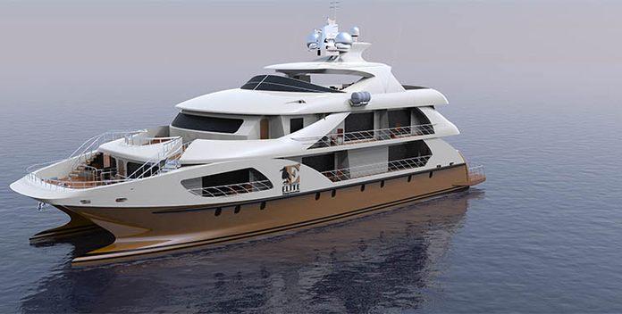 Elite yacht charter Custom Motor Yacht