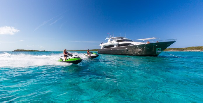 Unbridled yacht charter Crescent  Yachts Motor Yacht