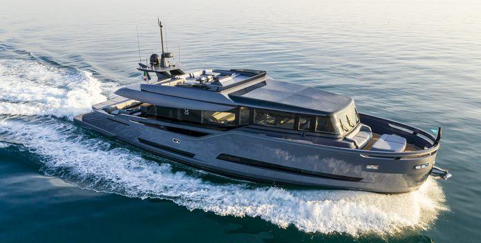 Haze yacht charter ISA Motor Yacht