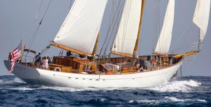Halcyon yacht charter John I Thornycroft & Co Ltd Sail Yacht