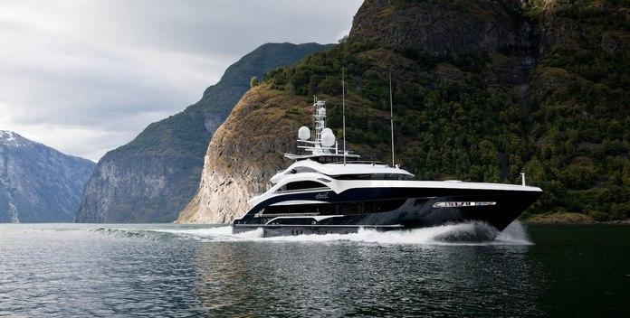 Lady Li yacht charter Heesen Motor Yacht