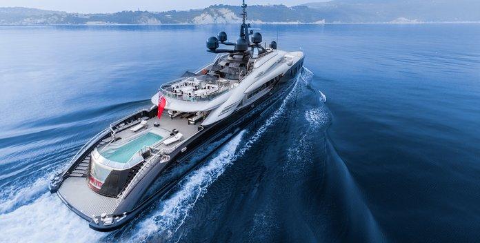 Okto yacht charter ISA Motor Yacht