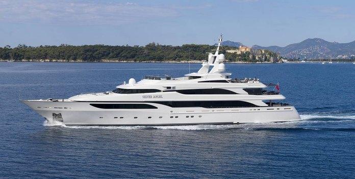 Silver Angel yacht charter Benetti Motor Yacht