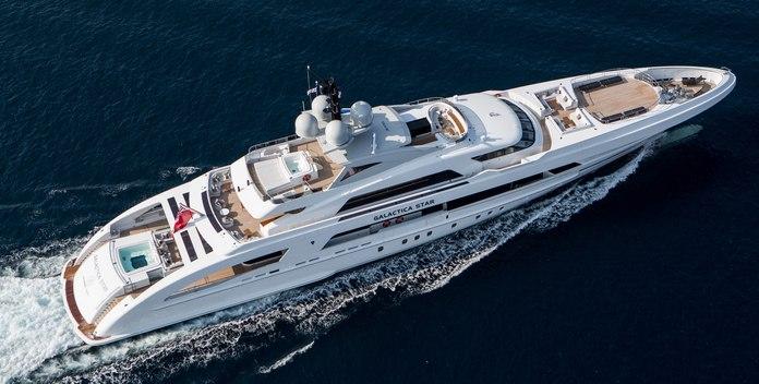 Illusion yacht charter Heesen Motor Yacht