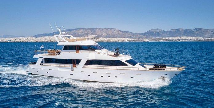 Wide Liberty yacht charter Custom Motor Yacht