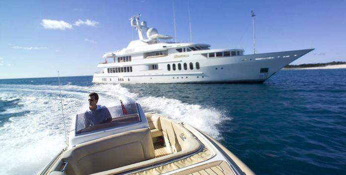 Sea Huntress yacht charter Feadship Motor Yacht