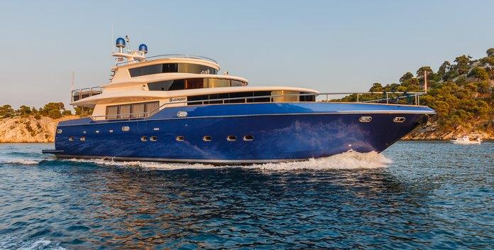 Johnson Baby yacht charter Johnson Yachts Motor Yacht