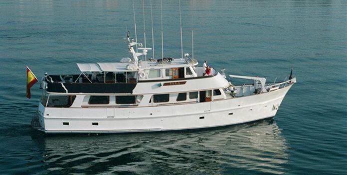 Sai Kung yacht charter American Marine Motor Yacht