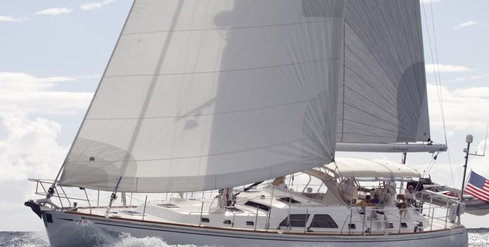 Archangel yacht charter Hylas Sail Yacht