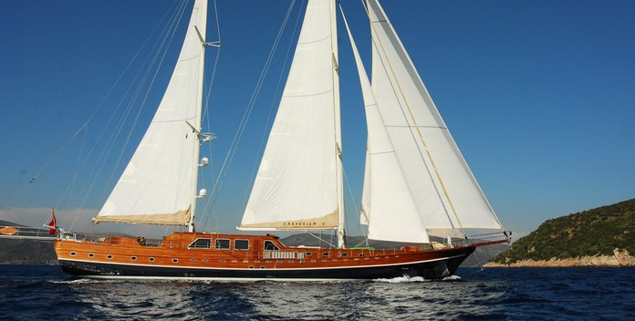 Carpe Diem V yacht charter Carpe Diem Sail Yacht
