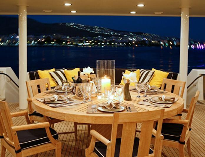 Main Deck Dining - Night