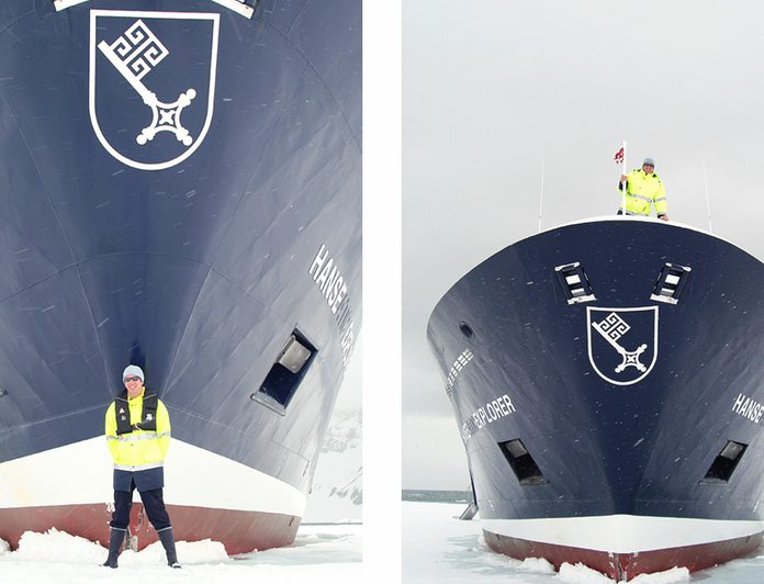 Bow in Ice
