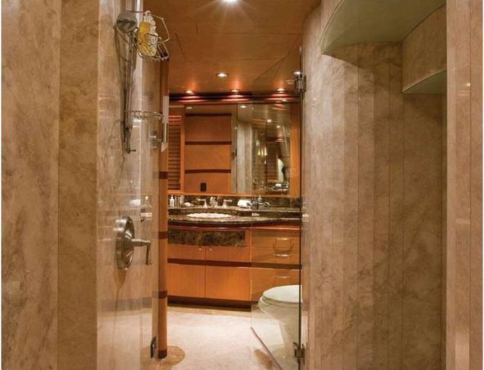 Master Stateroom into Bathroom